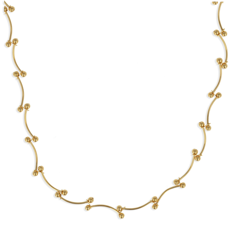 Gold Plated Necklace 45cm