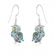 925 STERLING SILVER EARRINGS MOONSTONE