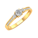 Gold Diamonds Ring 1.7grs