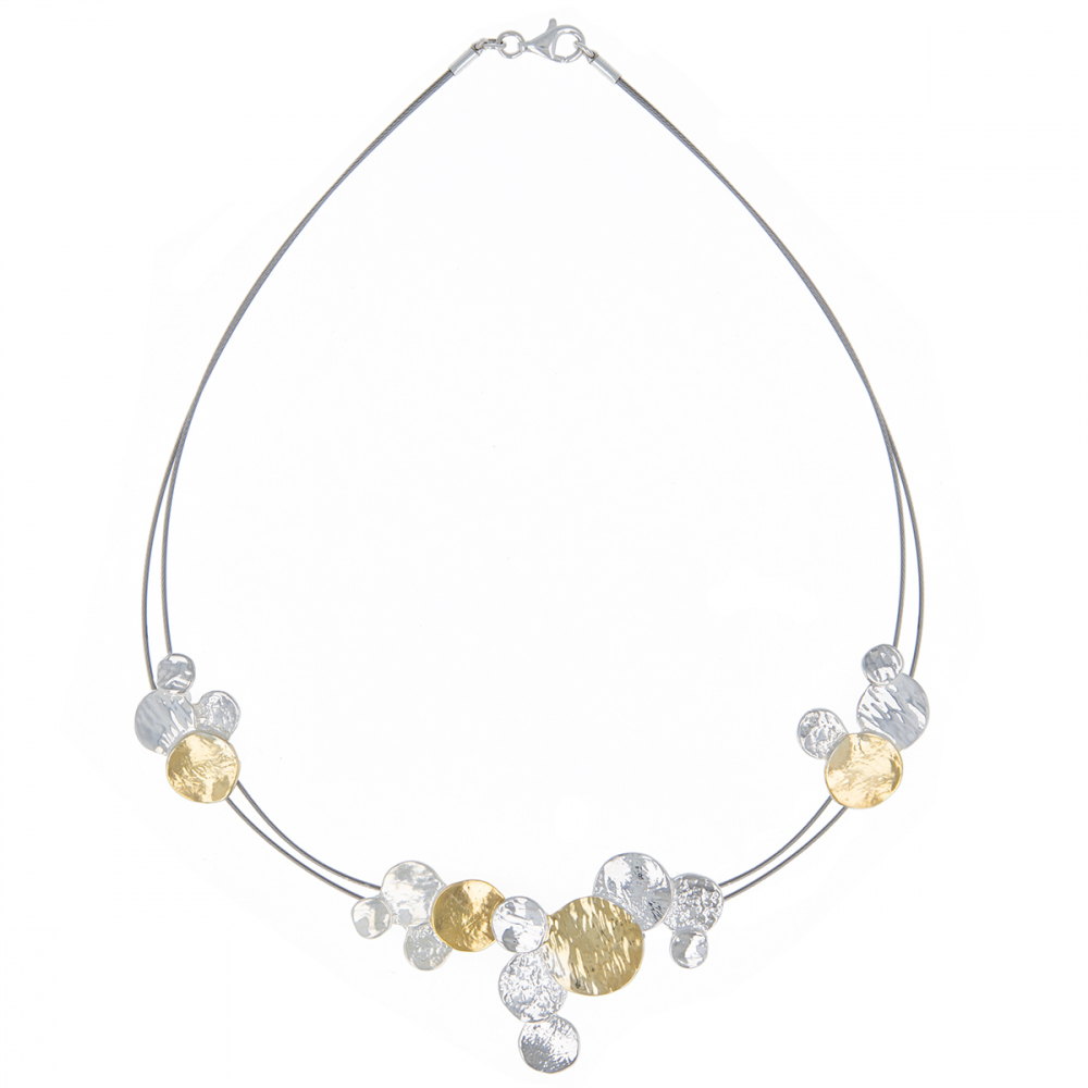 925 Sterling Silver Gold Plated Necklace