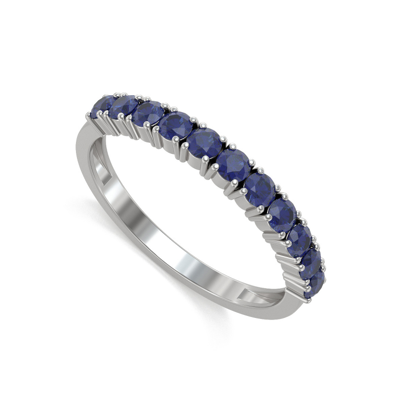 Gold Sapphire Ring 1.64grs